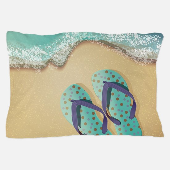 Flip Flops Pillow Case