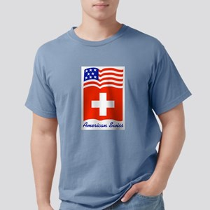 American Swiss Plate Ash Grey T-Shirt