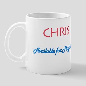 Chris - Available for Playdat Mug