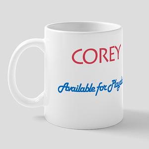 Corey - Available for Playdat Mug