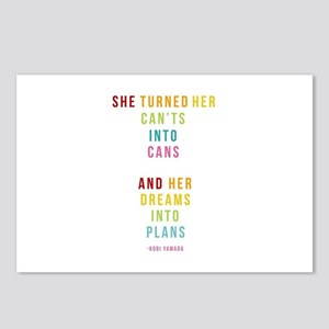 Dreams into Plans Postcards (Package of 8)
