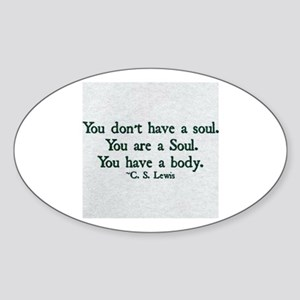 Soul and Body Sticker