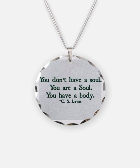Soul and Body Necklace