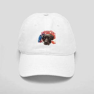 Patriotic Puppy Baseball Cap