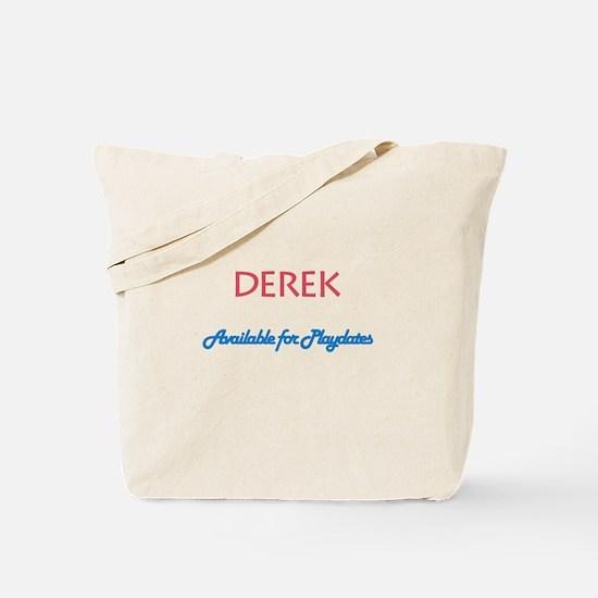 Derek - Available for Playdat Tote Bag