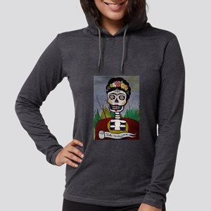 Frida's Dia De Los Muertos Long Sleeve T-Shirt