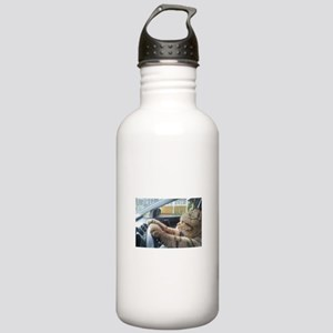 Driving Cat Stainless Water Bottle 1.0L