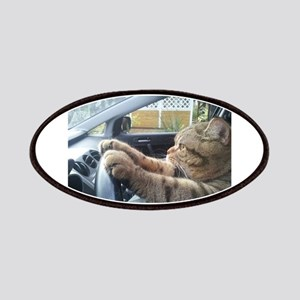 Driving Cat Patch