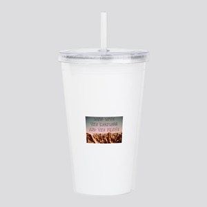 Long Live the Reckless Acrylic Double-wall Tumbler