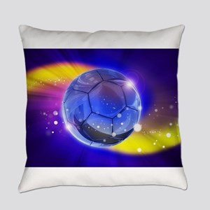 Soccer or Football Everyday Pillow