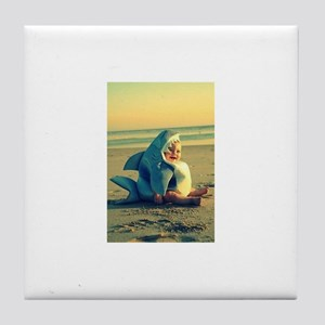 Baby Shark Tile Coaster