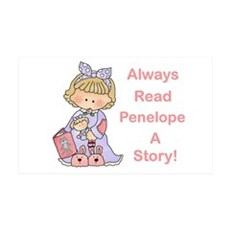 Read Penelope a Story Wall Decal