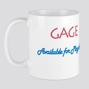 Gage - Available for Playdate Mug