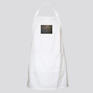 What would you attempt Apron
