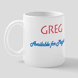 Greg - Available for Playdate Mug