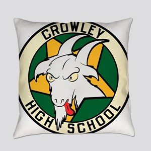 Crowley High School Everyday Pillow