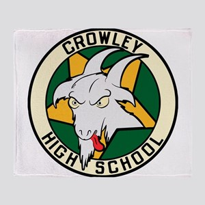 Crowley High School Throw Blanket