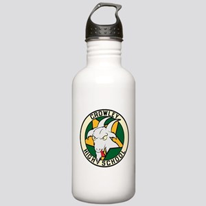 Crowley High School Sports Water Bottle