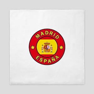 Madrid España Queen Duvet