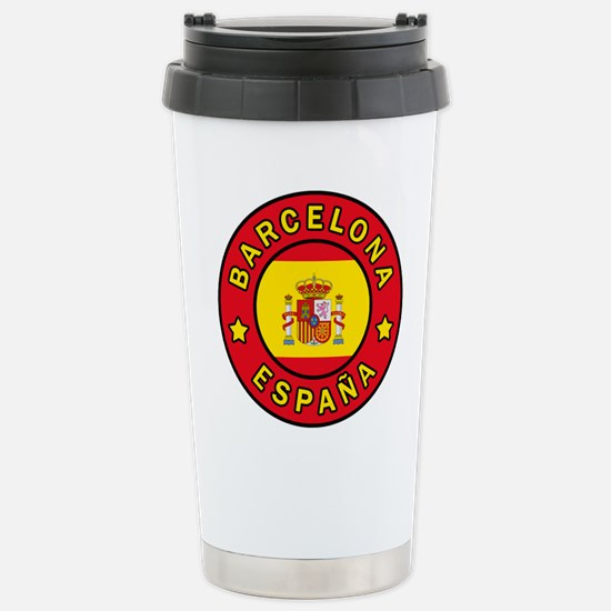 Barcelona España Stainless Steel Travel Mug