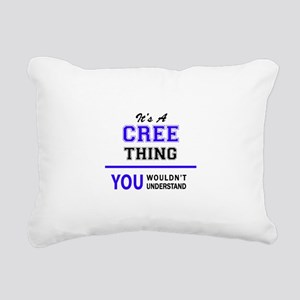 It's CREE thing, you wou Rectangular Canvas Pillow