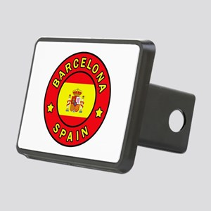 Barcelona Spain Rectangular Hitch Cover