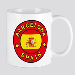 Barcelona Spain Mugs