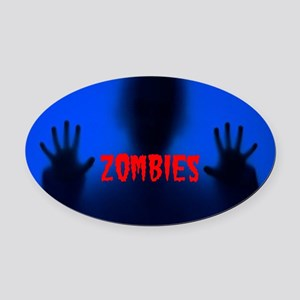 ZOMBIES Oval Car Magnet