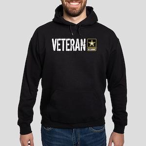 U.S. Army: Veteran (Black) Hoodie