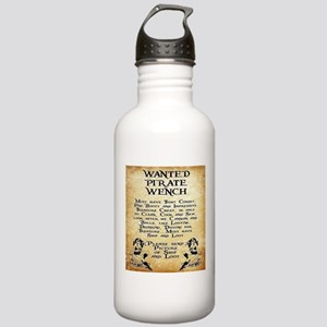 Pirate Wench Wanted Water Bottle