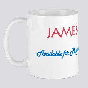 James - Available for Playdat Mug