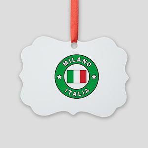 Milano Italia Picture Ornament