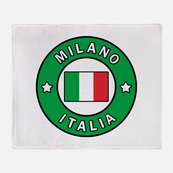 Milano Italia Throw Blanket