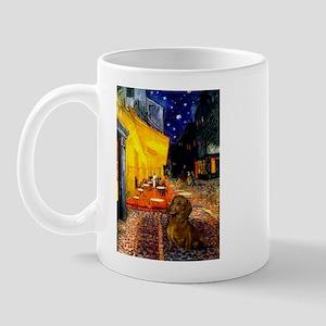Cafe /Dachshund Mug