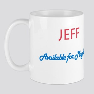 Jeff - Available for Playdate Mug