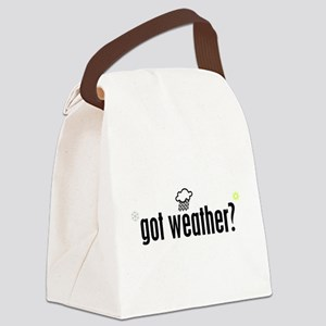 Got Weather? Canvas Lunch Bag
