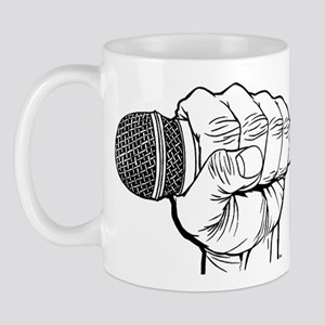 Microphone Fist Mug