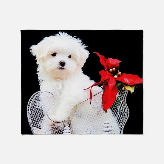 Cute Red pets Throw Blanket