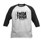 Farm Tough Kids - Barn Baseball Jersey