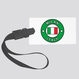 Milan Italy Large Luggage Tag