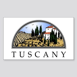 Tuscany Rectangle Sticker