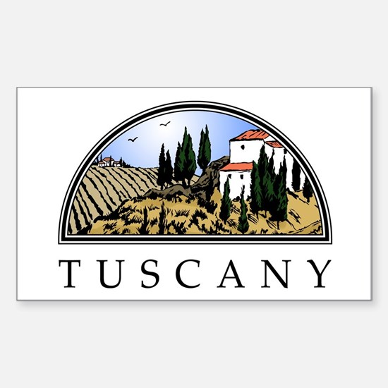 Tuscany Rectangle Decal