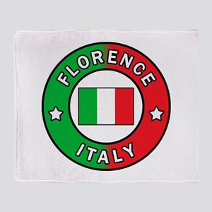 Florence Italy Throw Blanket
