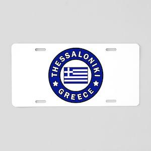 Thessaloniki Greece Aluminum License Plate