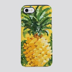 Pineapple Low Poly Tropical Art iPhone 8/7 Tough C