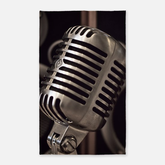 Microphone Area Rug