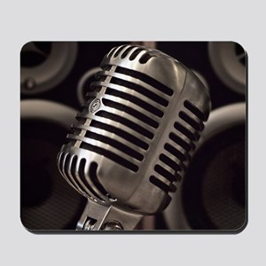 Microphone Mousepad