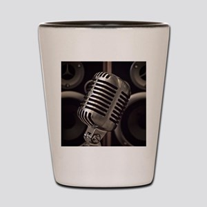 Microphone Shot Glass
