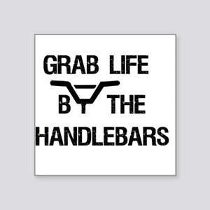 Grab Life By the Handlebars Sticker