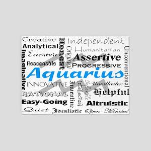 Aquarius Collage 5'x7'Area Rug